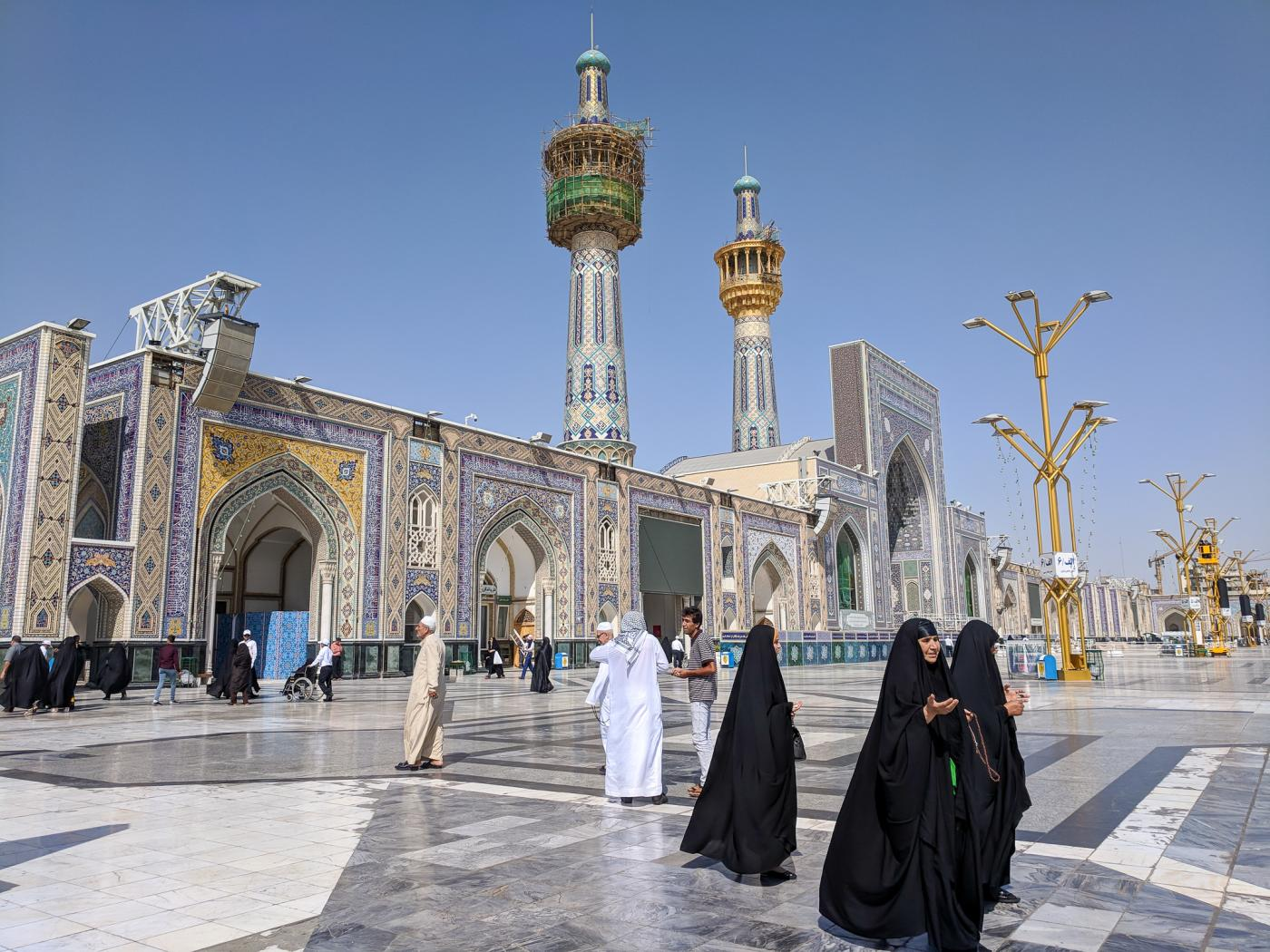 All mosques in Iran will reopen temporarily this week