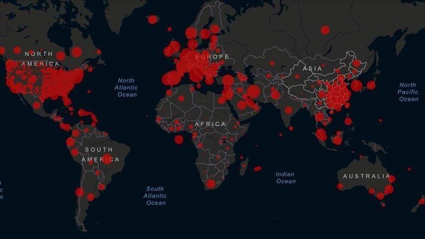 Coronavirus Pandemic - COVID-19 pandemic worldwide - DG ECHO Daily Map
