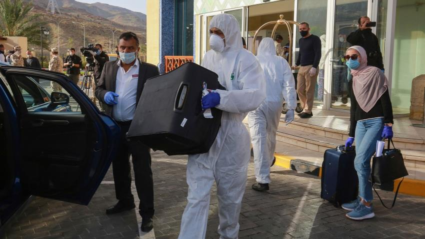 Coronavirus Pandemic stoking the fires in Middle East