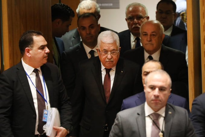Palestinian President Mahmoud Abbas declared on Tuesday an end to all agreements signed with Israel and the United States.