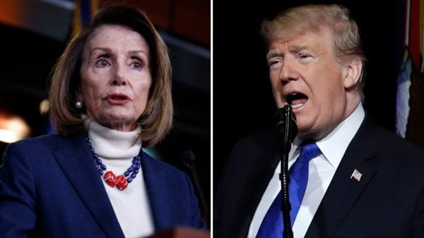 Trump says he's using unproven drug to ward off coronavirus, as Nancy Pelosi fears for the mobidly obese president