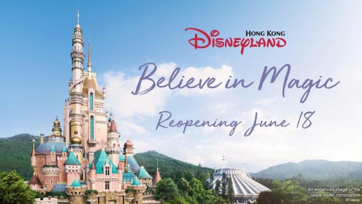 Hong Kong Disneyland reopens