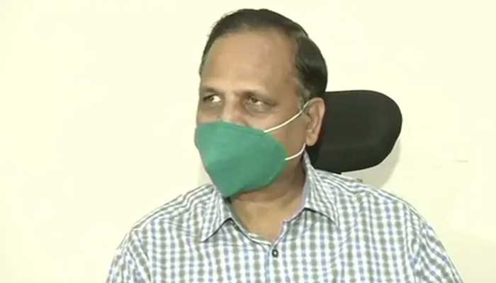Health Minister Satyendar Jain was hospitalised and tested for coronavirus