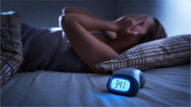 Sleep problems in the UK due to lockdown