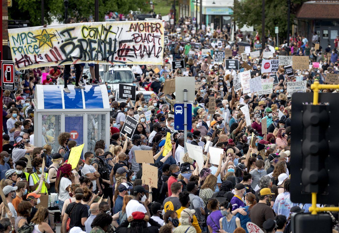 George Floyd Minneapolis protest