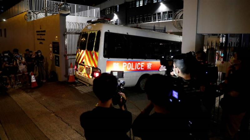 16-year-old among students held in first arrests under new Hong Kong security law
