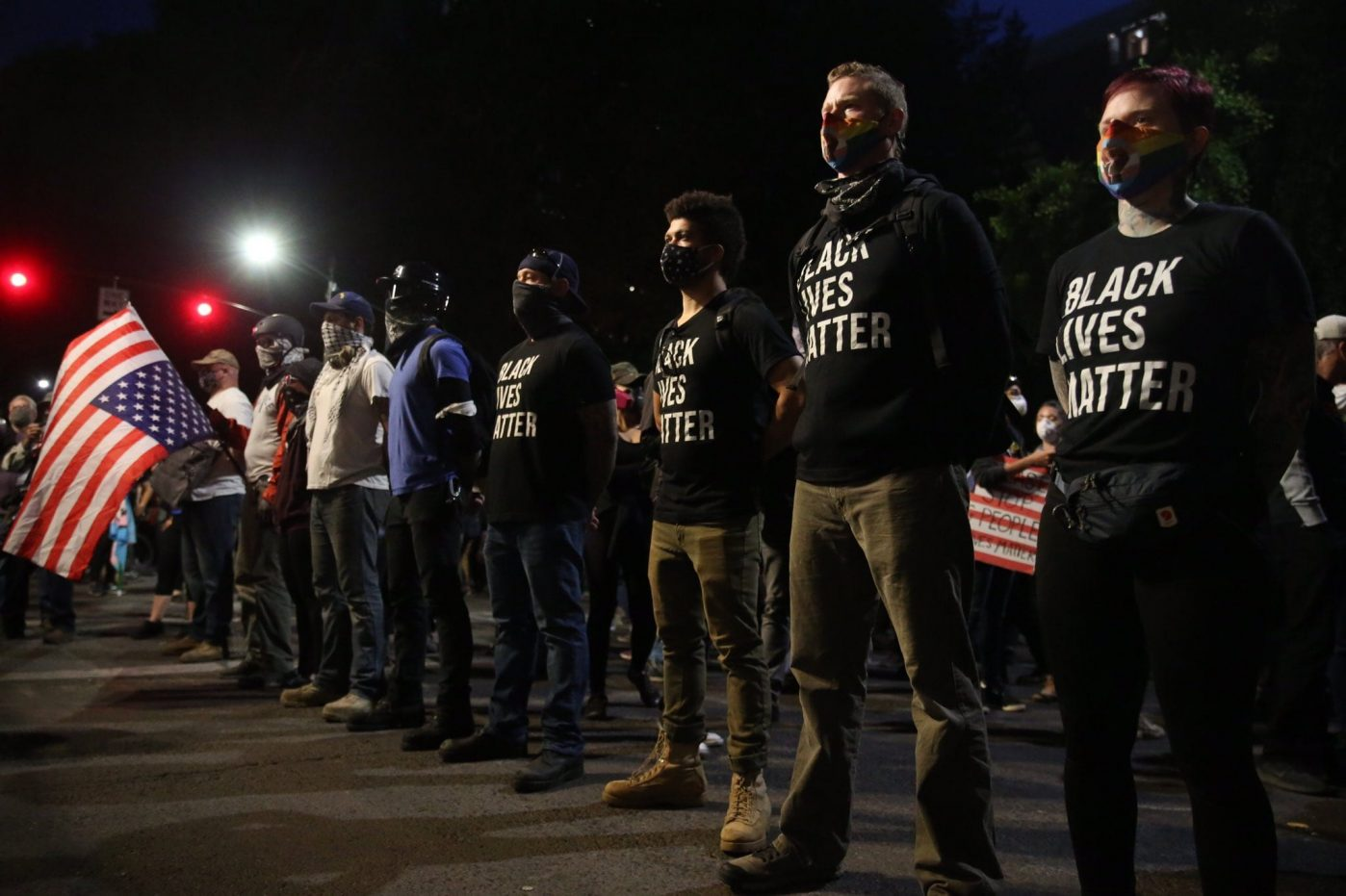 A weekend of protests in the US, 1 dead as violence erupts