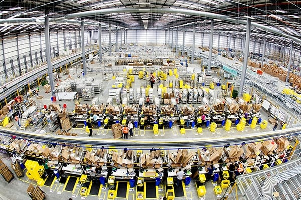 Amazon to create 7,000 UK jobs