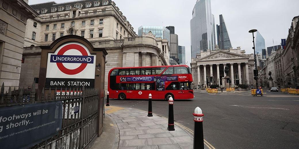 Job losses in city centres