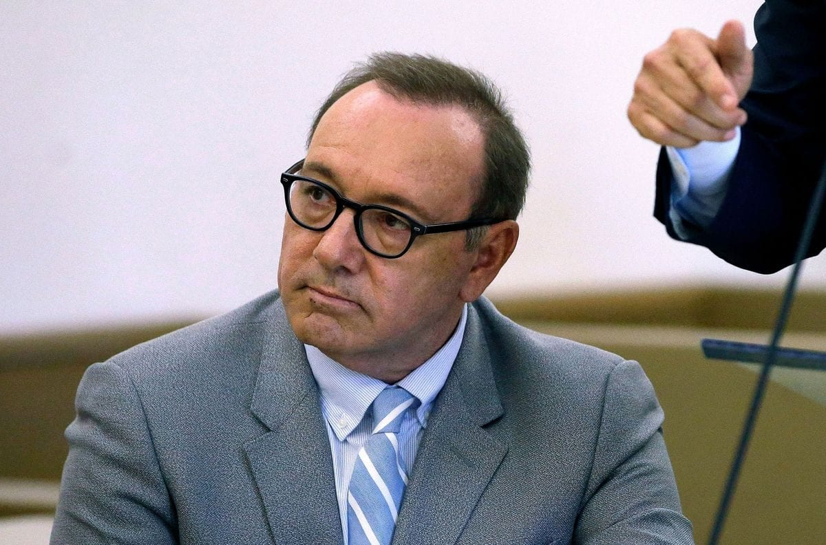 Kevin Spacey sued over alleged abuse of two men in 1980 - when they were 14
