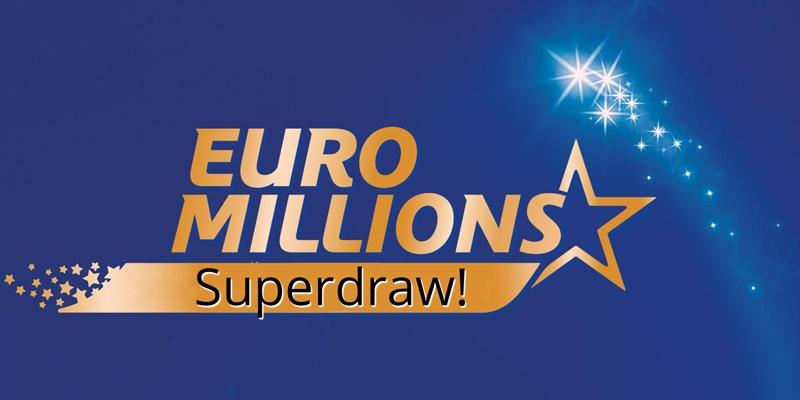 £115 million Euromillions Superdraw set for November