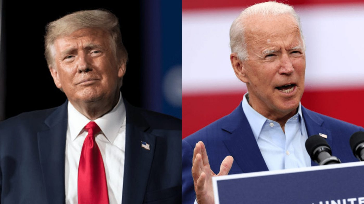 VIDEO: Trump and Biden feud over presidential debate topics