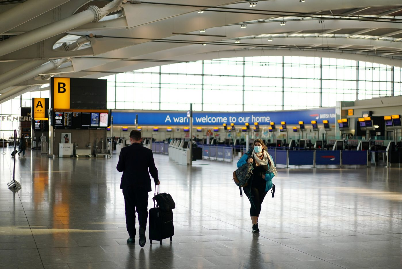 UK to start rapid Covid-19 tests at Heathrow