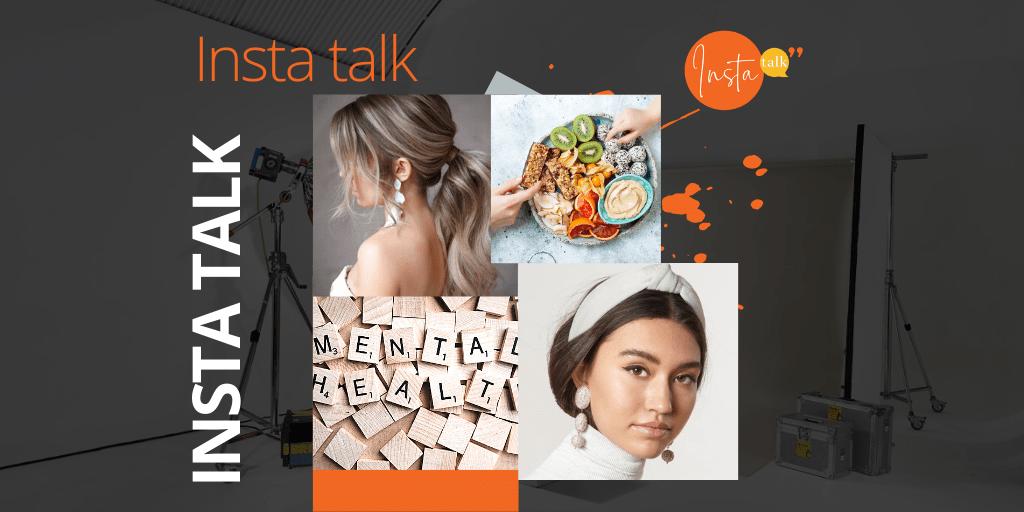 Insta Talk e12: Covid-phobia - Headbands & lockdown hairstyles - healthy snacking!