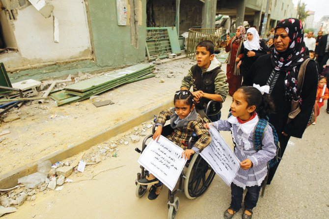Coronavirus disrupts lives of Middle East's children with special needs