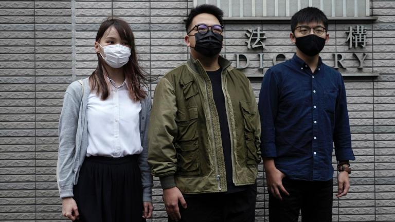 Hong Kong activist Joshua Wong faces jail after guilty plea over police HQ protests