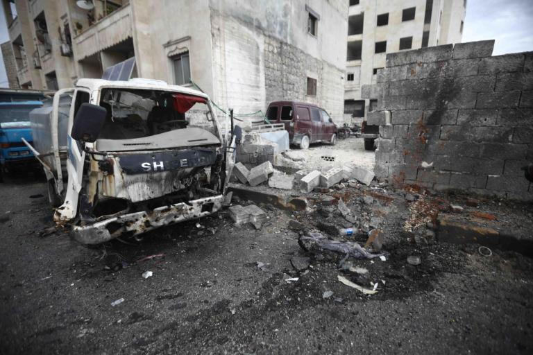 CHILDREN AMONG SEVEN KILLED IN SYRIA REBEL ENCLAVE SHELLING