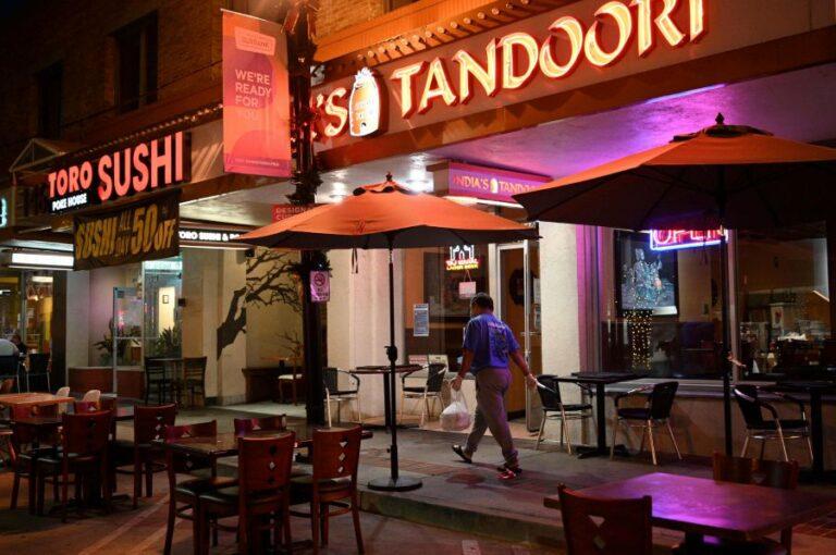 LA shuts restaurants as virus surges