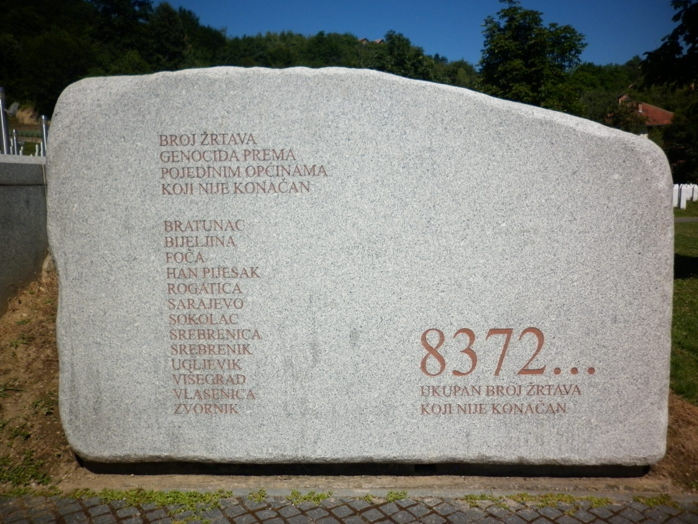 SREBRENICA: Justice delayed and denied, but not forgotten by Yvonne Ridley
