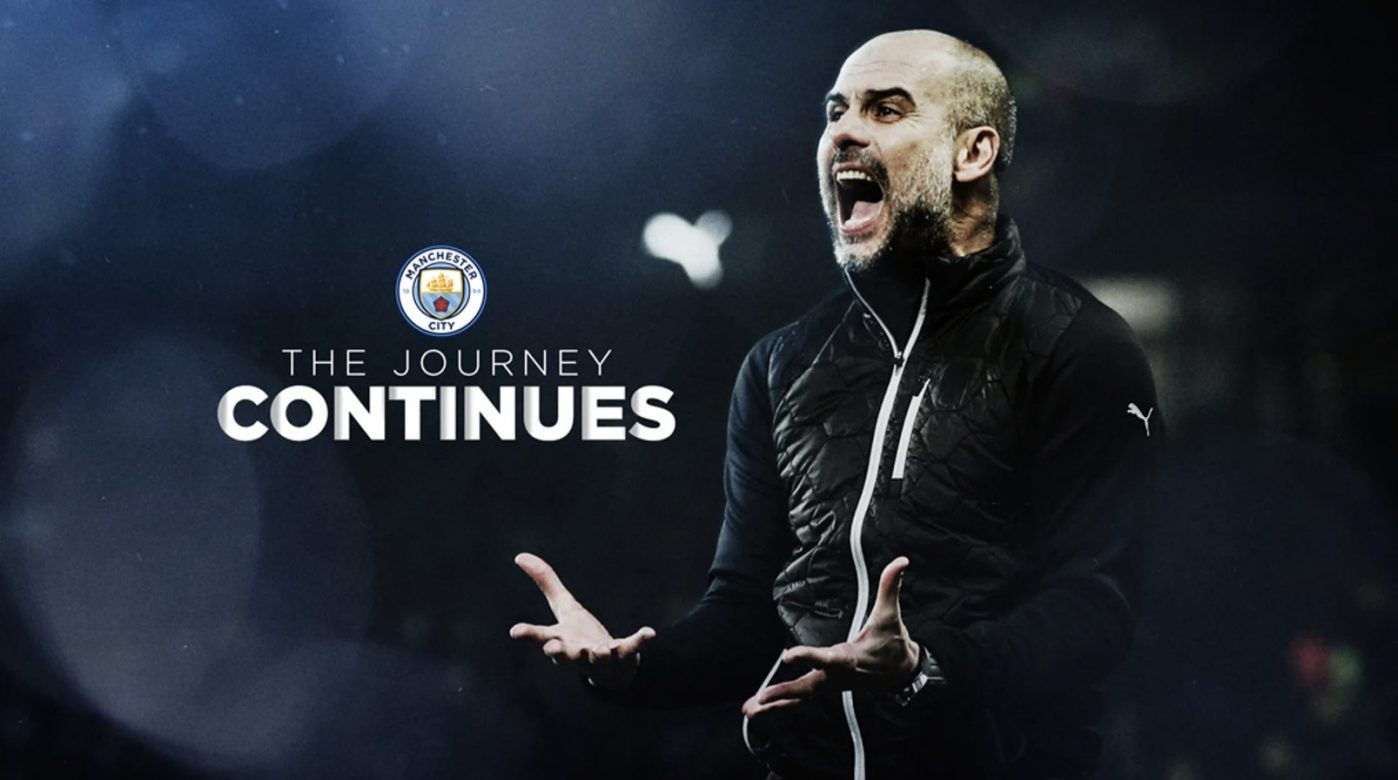 Pep Guardiola Has signed a new two year deal with Man City