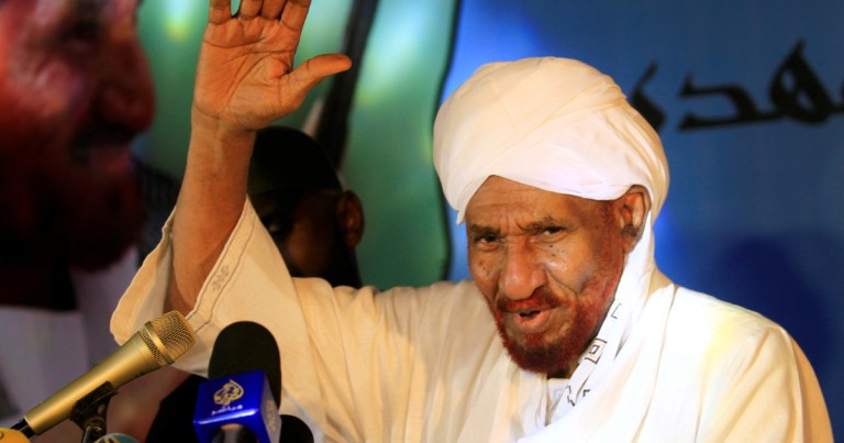 Sudanese former PM and opposition leader Sadiq al-Mahdi dies of Covid-19