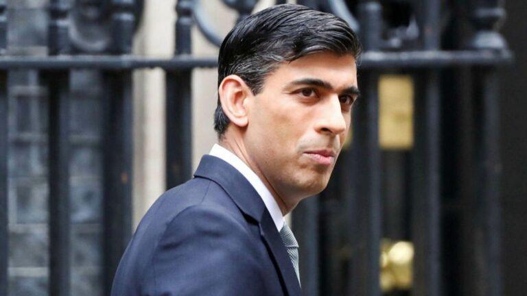 Sunak faces worst hit to UK finances since second world war