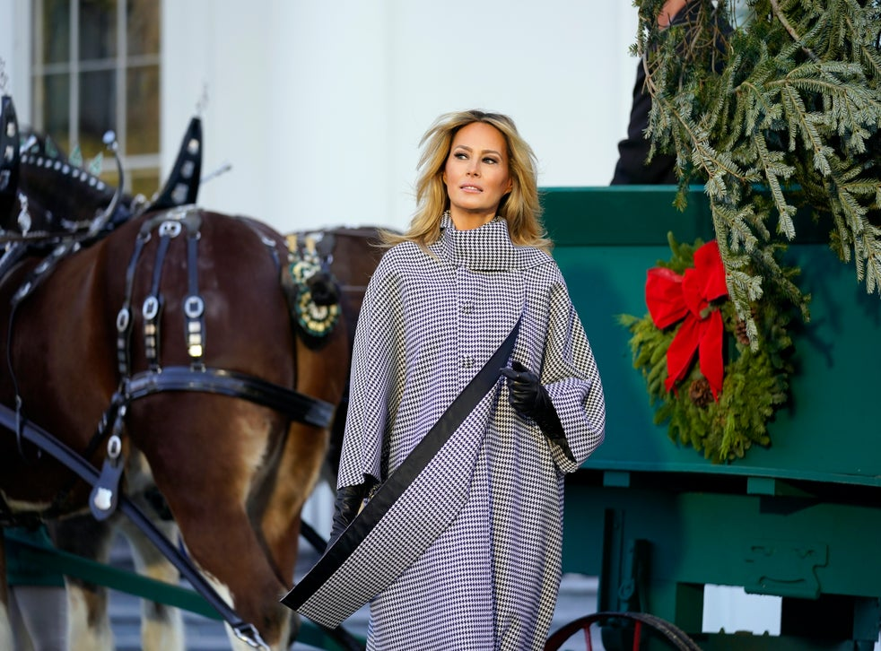 White House Christmas tree 2020 FLOTUS