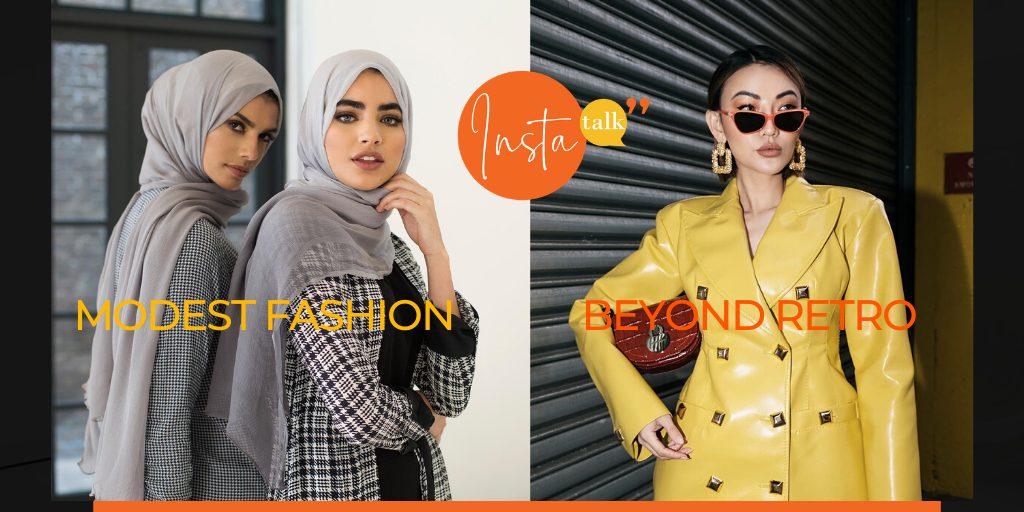 Insta Talk e17: Modest Fashion – Winter Skincare – Nutrient-dense foods – Vintage clothes
