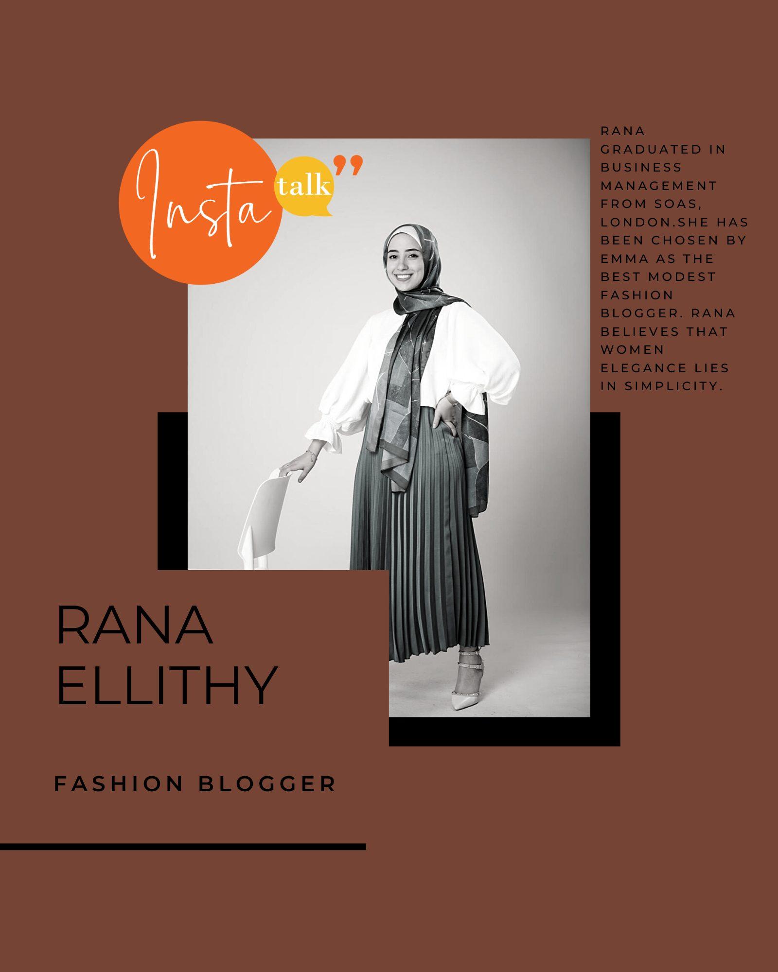 Rana Modest fashion outfits
