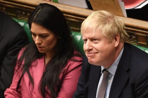 Boris Johnson facing legal challenge over decision not to fire Priti Patel