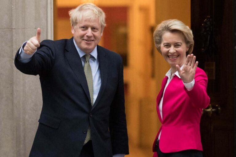 """Boris Johnson's """"seven hour showdown"""" with EU chiefs."""