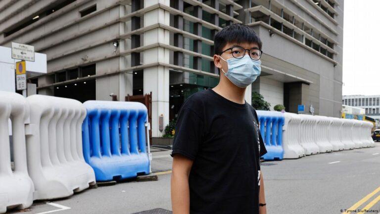 Joshua Wong defiant ahead of Hong Kong sentencing