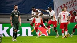 Man Utd knocked out of Champion League by RB Leipzig