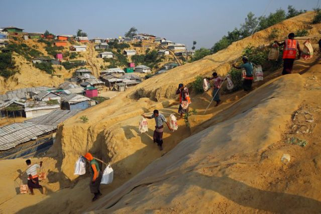 Rights groups urge Bangladesh to halt Rohingya relocation