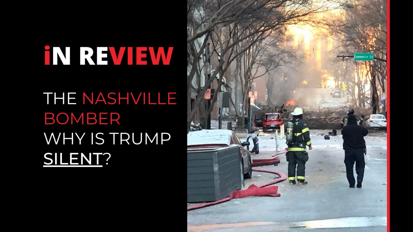 The Nashville Bomber - Trump silent, 5G conspiracy and the mystery woman
