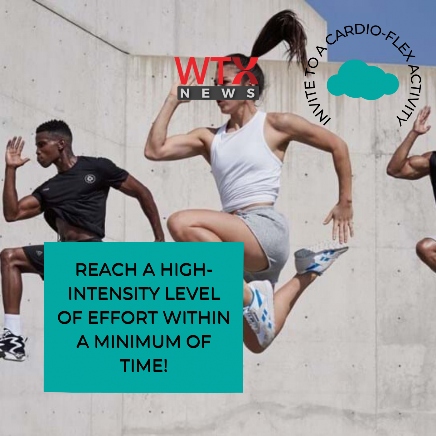 Reach High levels of intensity