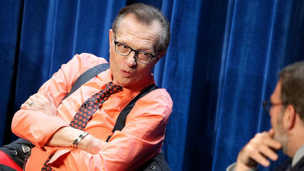 Larry King taken to Los Angeles hospital with Covid-19