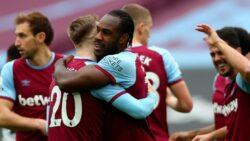 Sunday's Premier League results - Antonio celebrates his opening goal