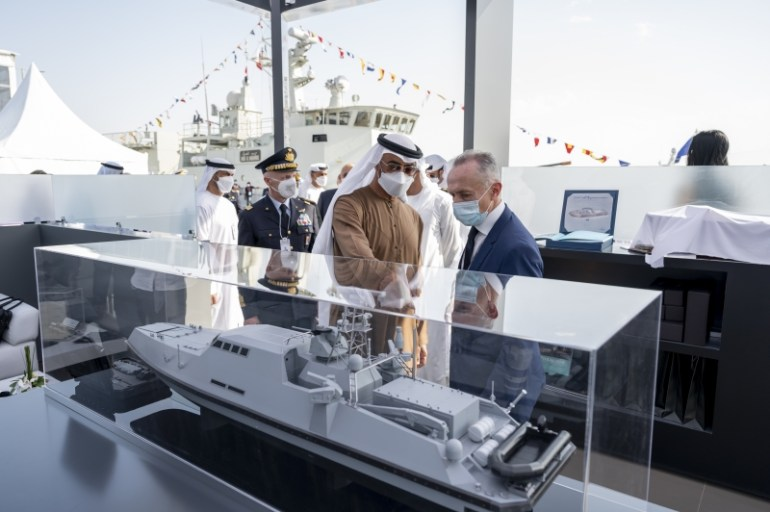 UAE shows off its Armed forces to EU Nations