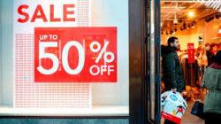 uk sales slump