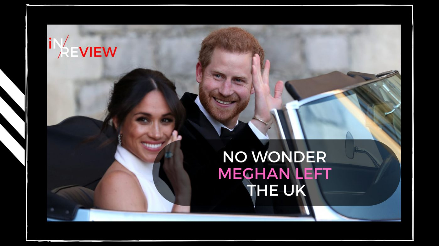 British tabloids are currently having a meltdown - It's time for us to say goodbye! Harry and Meghan Oprah interview media
