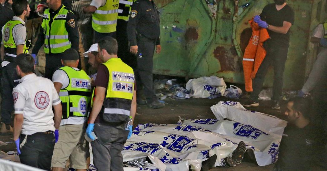 Daily News Briefing: 44 dead in stampede at Israel festival - Noel Clarke suspended - Brazil's deadliest month