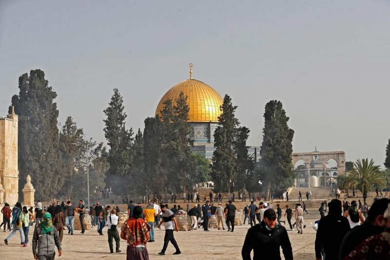 BREAKING News Palestine: at least 215 wounded as Israeli forces raid Al-Aqsa compound - the Latest from Palestine and Israel