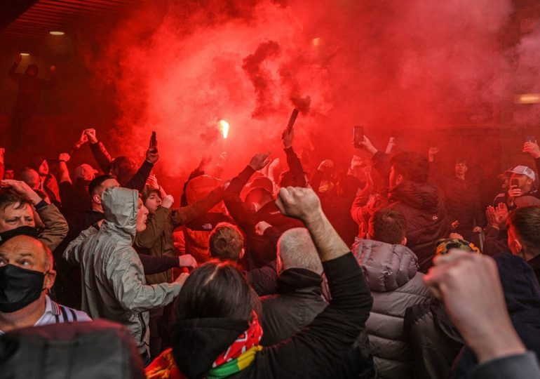 Manchester United protests: FA investigating as police condemn 'unacceptable' violence