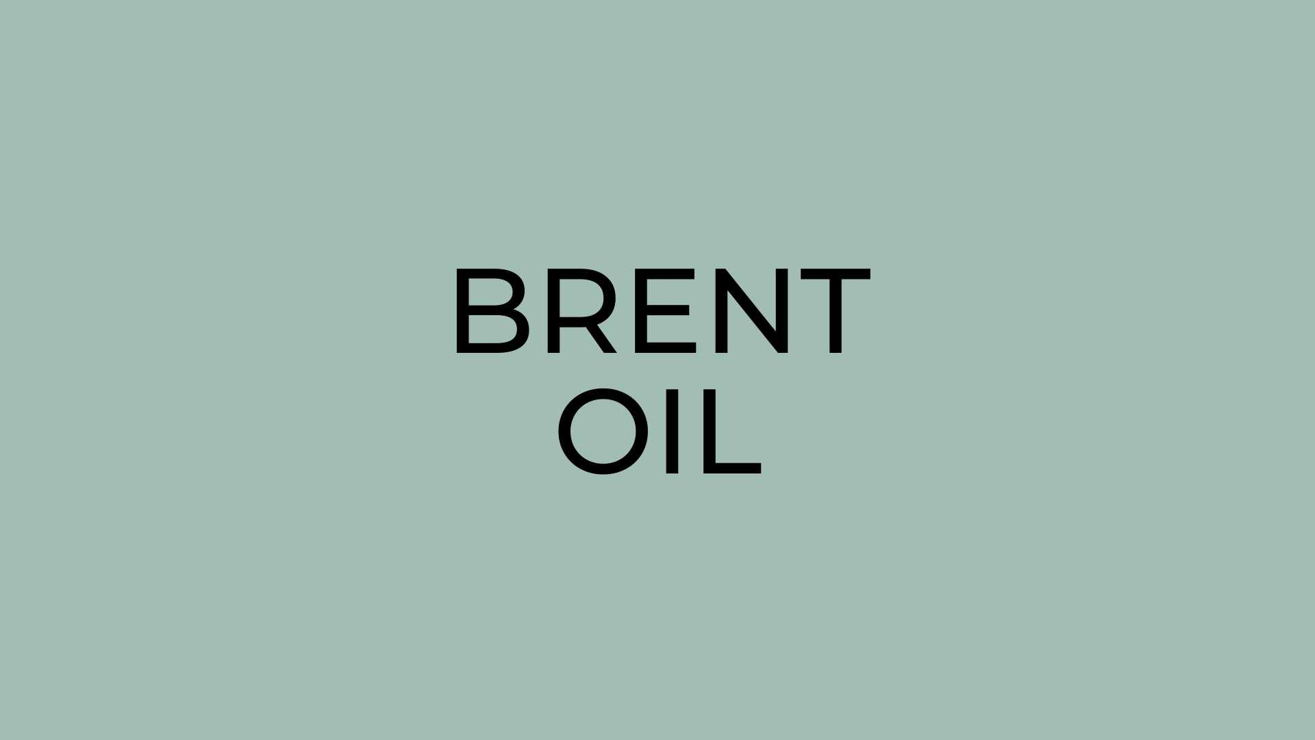 Brent crude oil price today