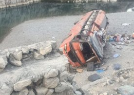 Bus crash in Pakistan kills at least 19 and leaves 50 injured
