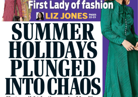 Daily Mail - Summer holidays 'chaos', race to get home or £1k tests