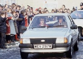 Princess Diana's Ford Escort from Prince Charles on sale for £40,000