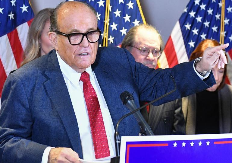 Giuliani's law license suspended over false US election claims