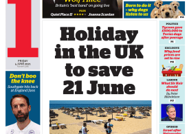 The i - Holiday in the UK to save 21 June